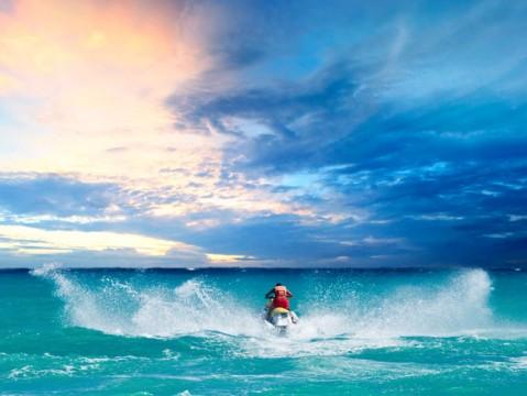 man-riding-jet-ski