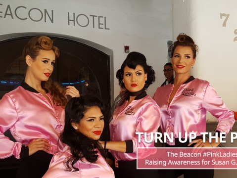 Turn Up The Pink with the Beacon #pinkladies