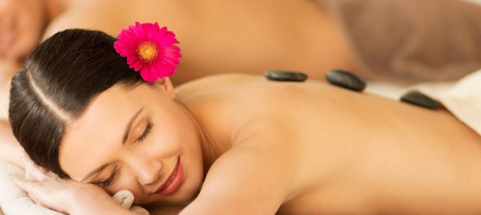 Woman relaxing in South Beach Spa