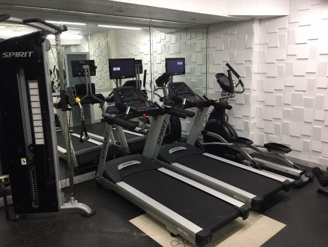 New Gym at Beacon Hotel